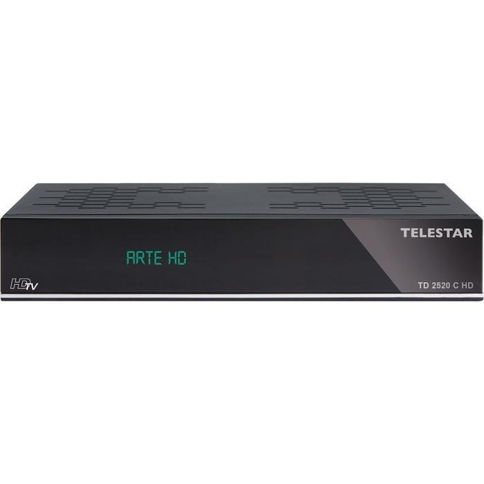 TELESTAR HDTV Kabelreceiver mit USB PVR Funktion »TD 2520 C HD« in schwarz