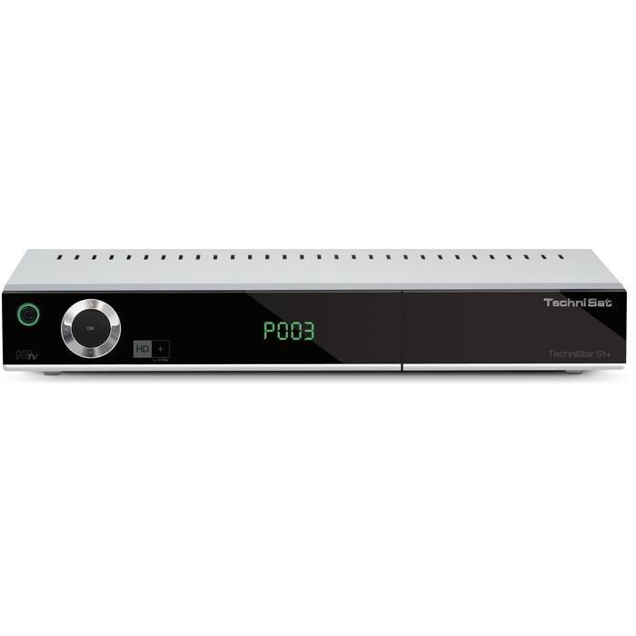 TechniSat HD+ Satellitenreceiver »TechniStar S1+« in silber