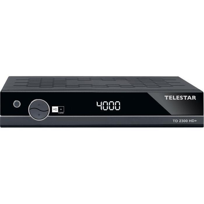 TELESTAR Satellitenreceiver »TD 2300 HD+« in schwarz