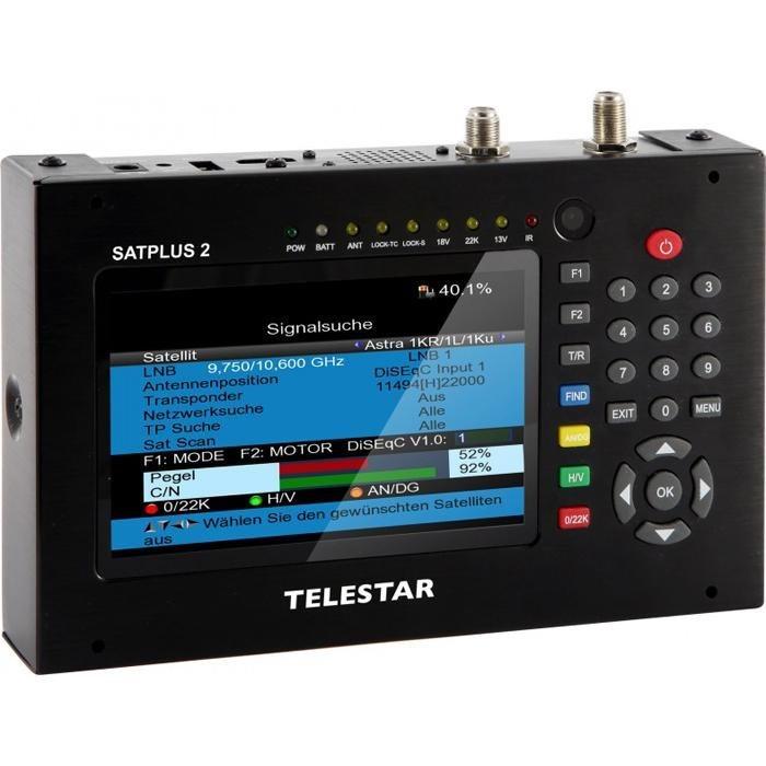 TELESTAR Messempfänger »SATPLUS 2« in schwarz
