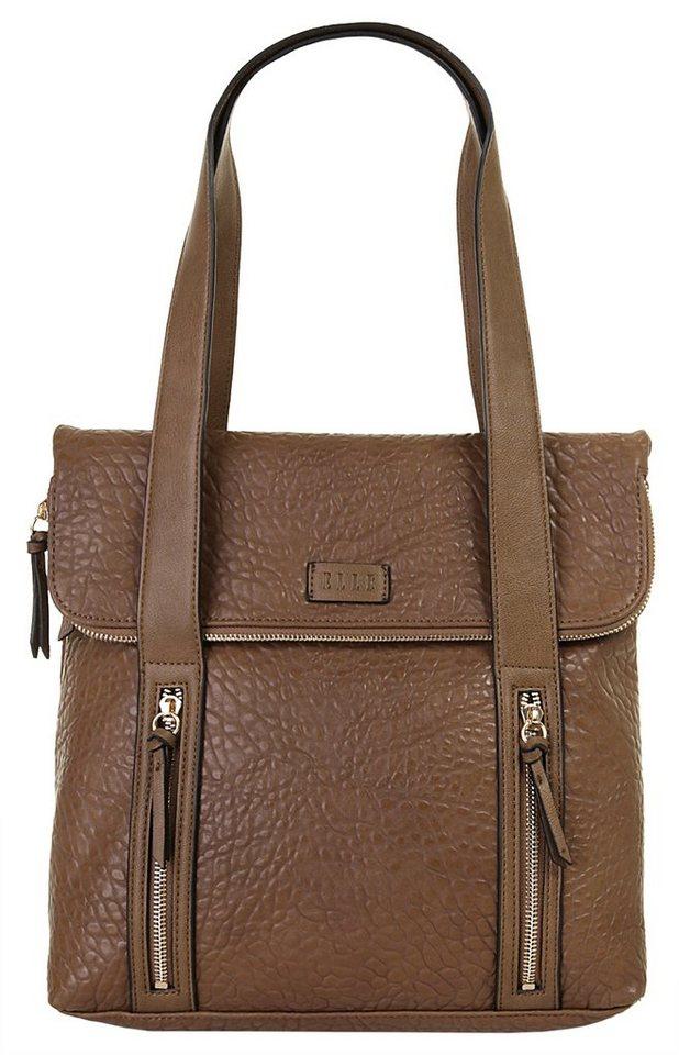 ELLE Damen Handtasche »Urban Chic« in braun