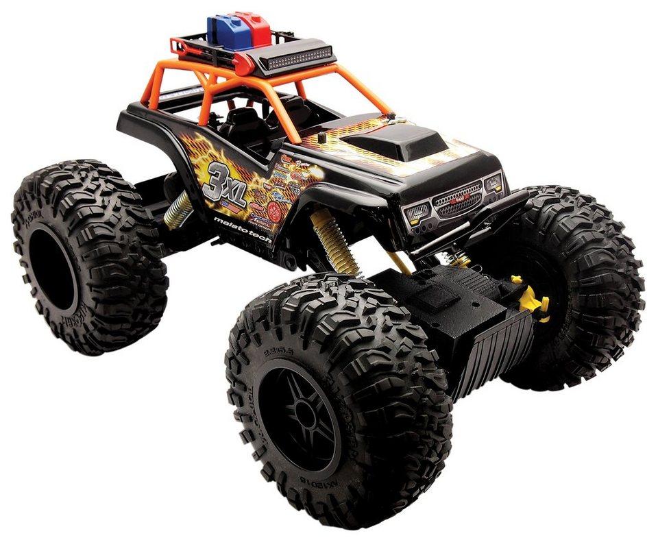 Maisto Tech® RC-Komplett-Set, »Rock Crawler 3XL« in schwarz