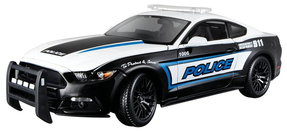 maisto sammlerauto 1 18 ford mustang gt police online. Black Bedroom Furniture Sets. Home Design Ideas