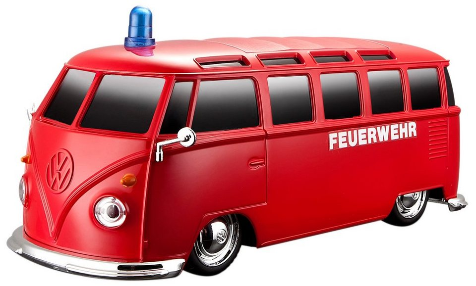 maisto tech rc fahrzeug vw bus samba feuerwehr. Black Bedroom Furniture Sets. Home Design Ideas