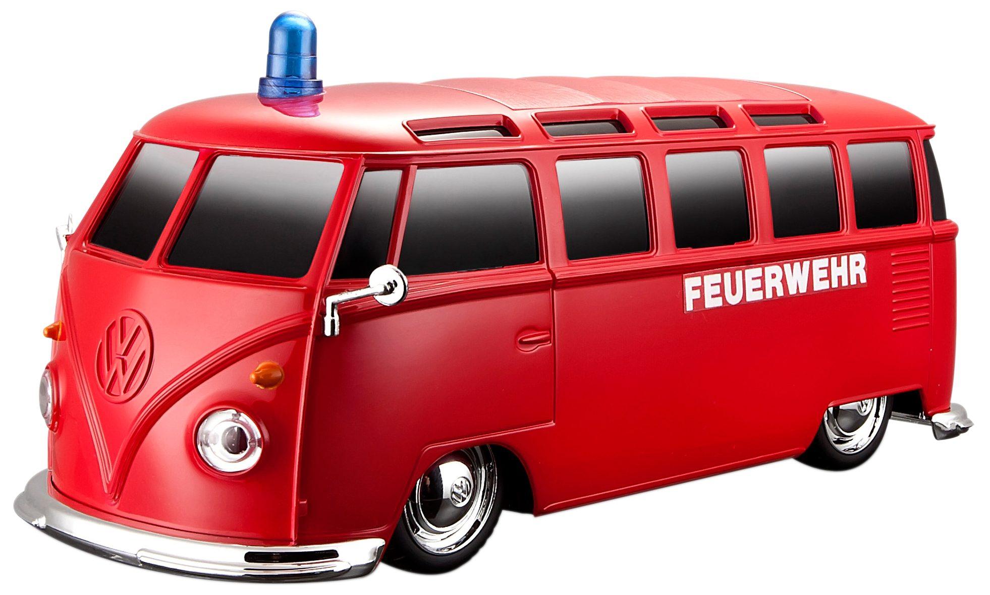 Maisto Tech® RC-Fahrzeug, »VW Bus Samba Feuerwehr Einsatzfahrzeug«