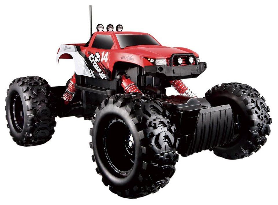Maisto Tech® RC-Komplett-Set, »Rock Crawler« in rot