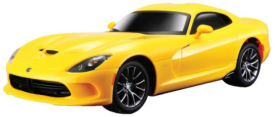 Maisto Tech® RC-Fahrzeug, »Dodge Viper GTS ´13 im originalgetreuen Design« in gelb