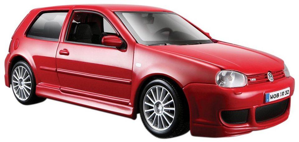 Maisto® Sammlerauto, 1:24, »Volkswagen Golf R32« in rot