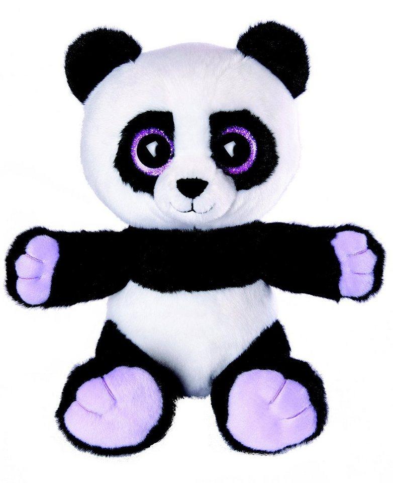 Heinrich Bauer Plüschtier, »Blickfänger GLITTER - Panda« in schwarz