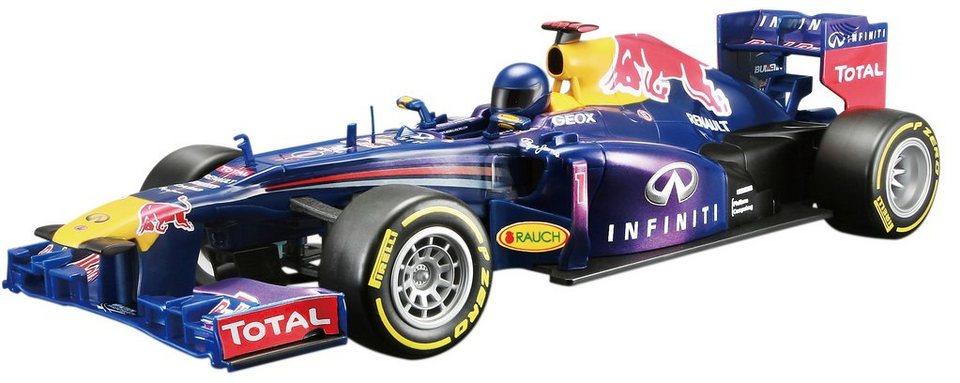 Maisto Tech® RC-Komplett-Set, »F1 Red Bull RB 9 im originalgetreuen Design« in blau