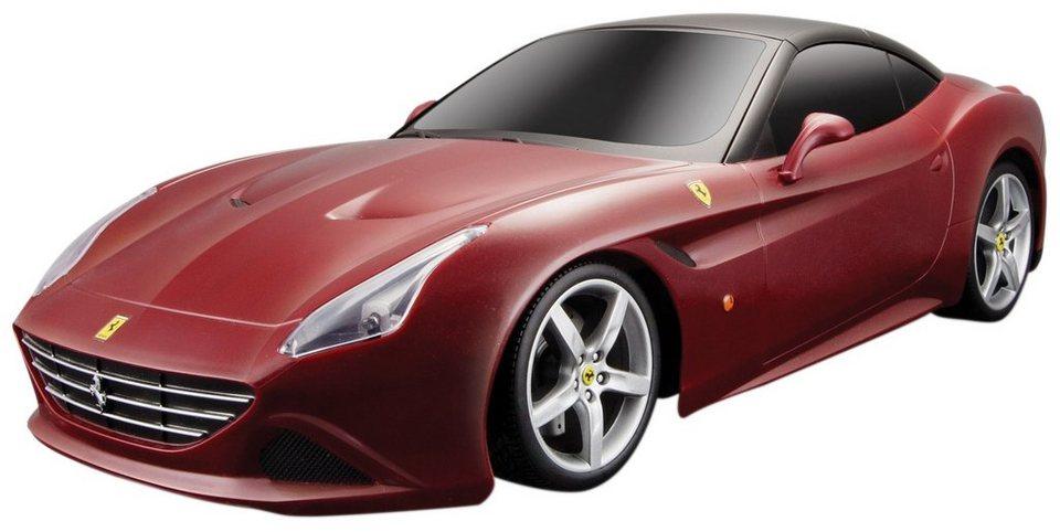 Maisto Tech® RC-Komplett-Set, »Ferrari California T im originalgetreuen Design« in rot