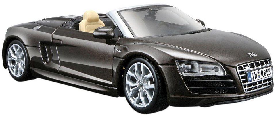 Maisto® Sammlerauto, 1:24, »Audi R8 Spyder« in braun