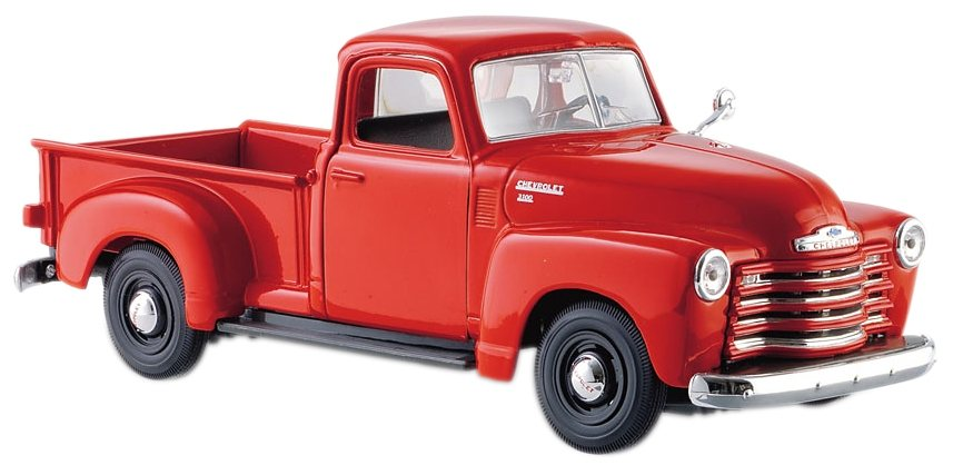 Maisto® Sammlerauto, 1:25, »Chevrolet 3100 Pick-Up '50« in rot