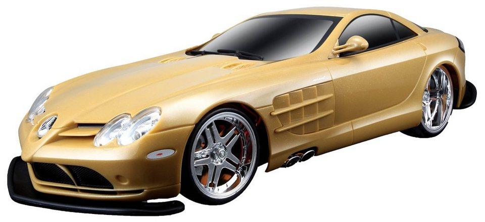 Maisto Tech® RC-Komplett-Set, »McLaren Mercedes SLR« in goldfarben