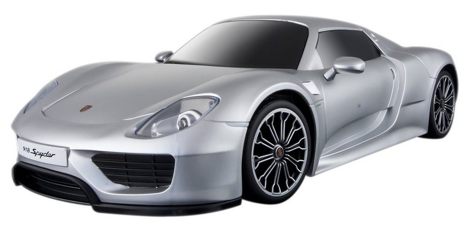 Maisto Tech® RC-Komplett-Set, »Porsche 918 Spyder im originalgetreuen Design« in silberfarben