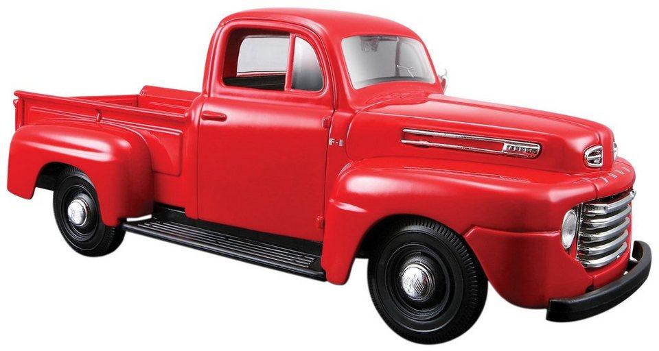 Maisto® Sammlerauto, 1:24, »Ford F1 Pick-Up '48« in rot