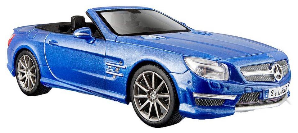 Maisto® Sammlerauto, 1:24, »Mercedes SL '12 AMG 63« in blau