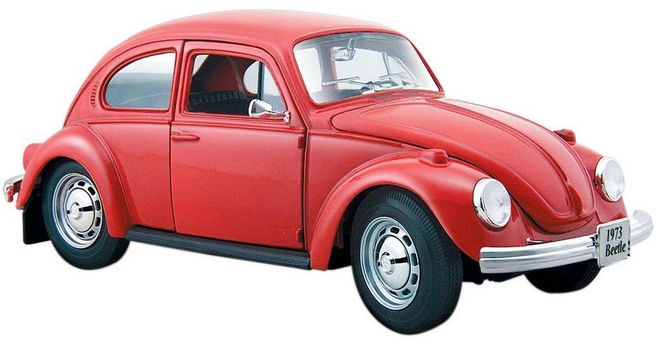 Maisto® Sammlerauto, 1:24, »VW Käfer '73« in rot