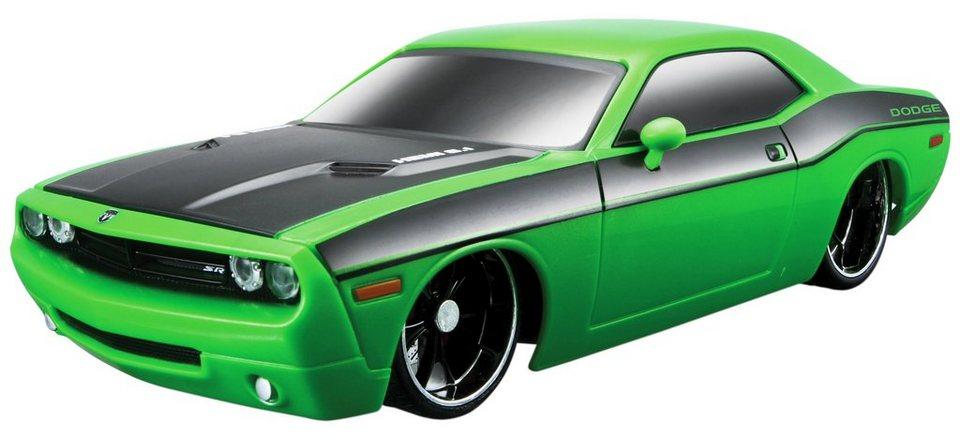 Maisto Tech® RC-Fahrzeug, »Dodge Challenger Concept '06 im originalgetreuen Design« in grün