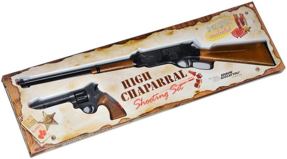 Schrödel Spielzeuggewehr-Set, 25 tlg., »High Chaparral Western-Line« in schwarz