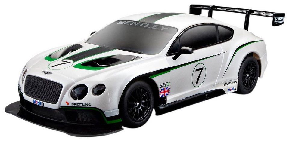Maisto Tech® RC-Fahrzeug, »Bentley Continental GT3« in weiß