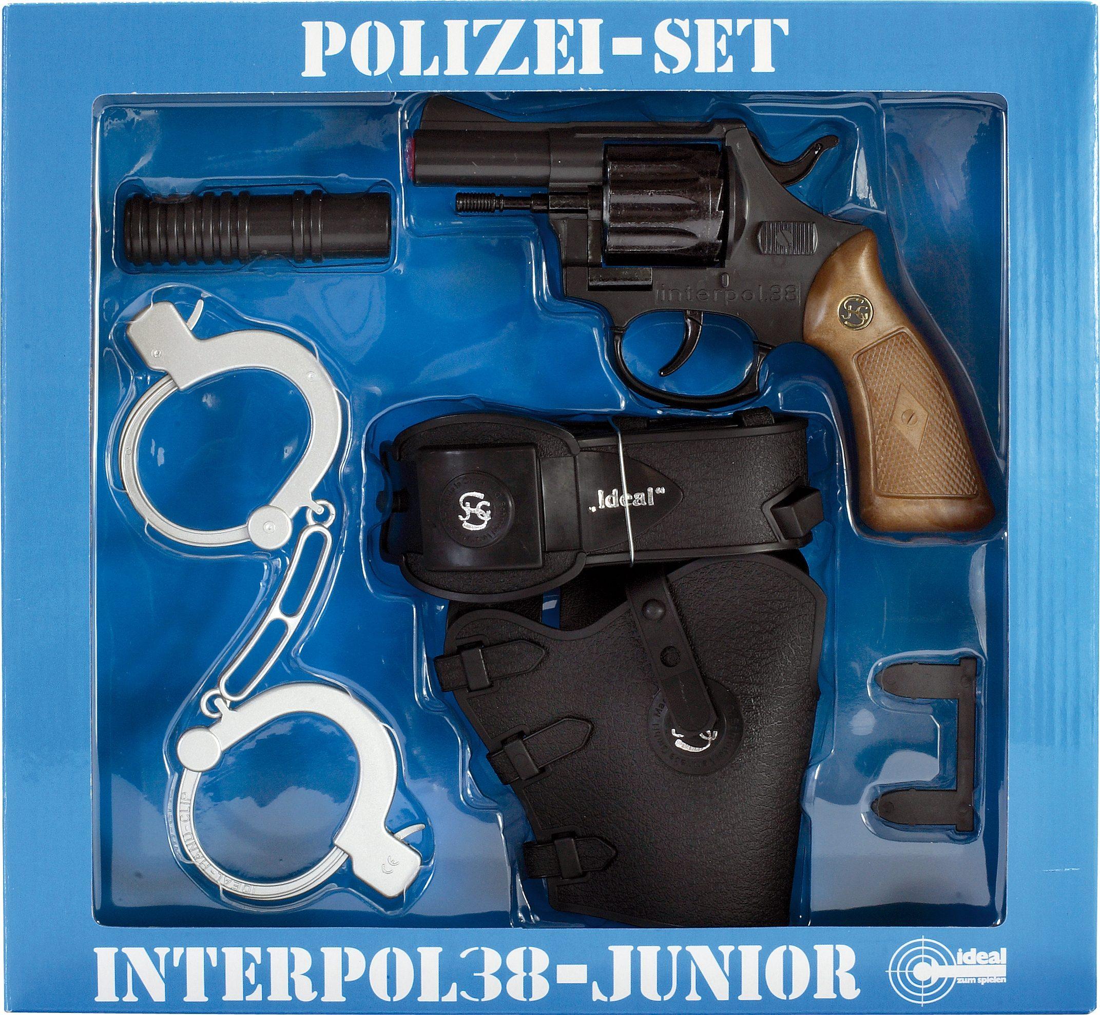 Schrödel Polizei-Spielset, 4-tlg., »Interpol 38 Junior«