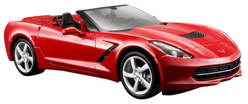 Maisto® Sammlerauto, 1:24, »Corvette Stingray Cabrio« in rot