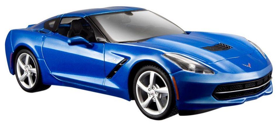 Maisto® Sammlerauto, 1:24, »Corvette Stingray Coupé« in blau