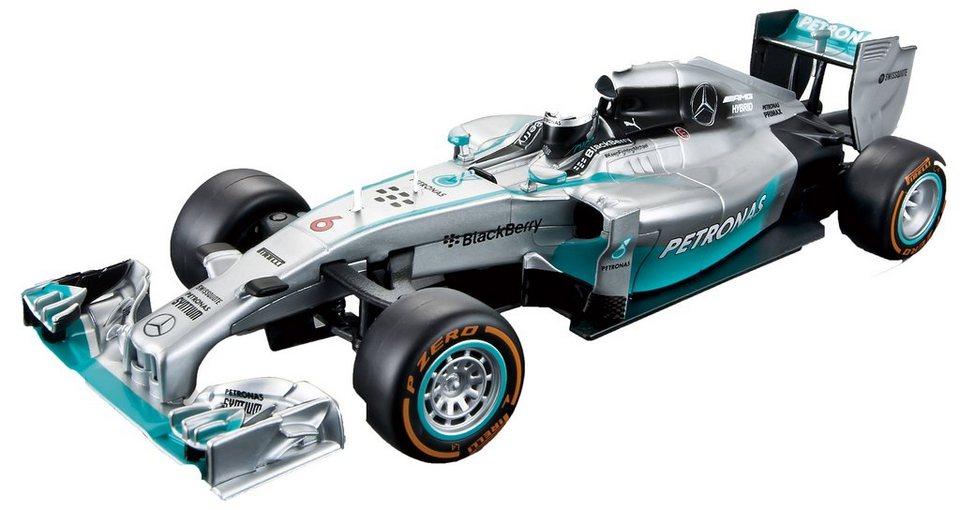 Maisto Tech® RC-Komplett-Set, »F1 Mercedes AMG Petronas im originalgetreuen Design« in silberfarben