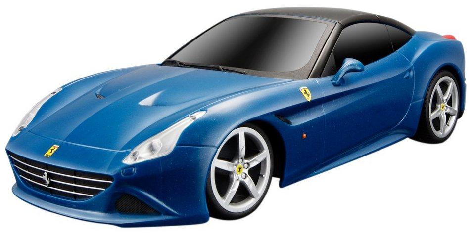 Maisto Tech® RC-Fahrzeug, »Ferrari California T im originalgetreuem Design« in blau