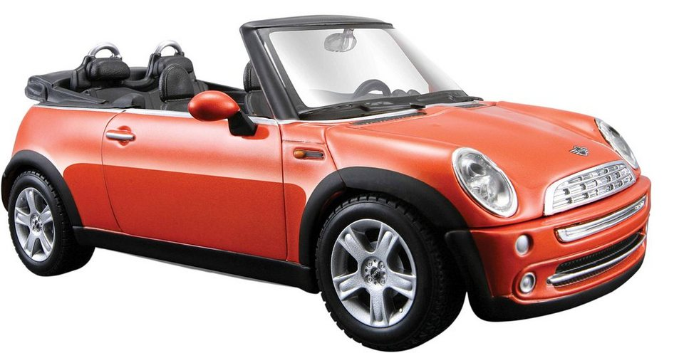 Maisto® Sammlerauto, 1:24, »Mini Cooper Cabrio« in orange