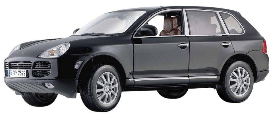 Maisto® Sammlerauto, 1:18, »Porsche Cayenne V6« in schwarz