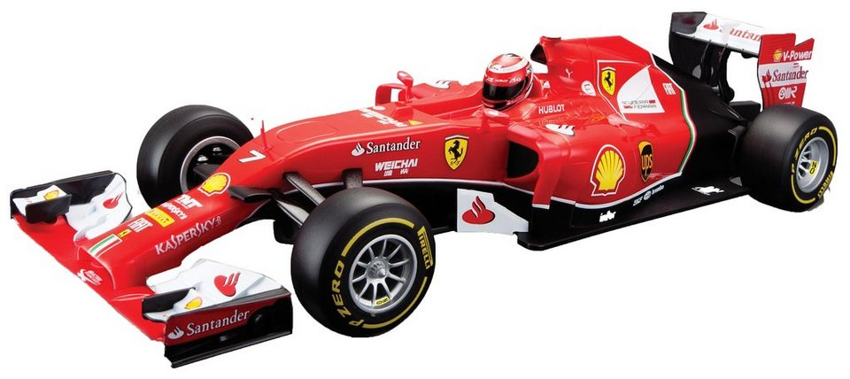 Maisto Tech® RC-Komplett-Set, »Ferrari F14 T im originalgetreuen Design« in rot