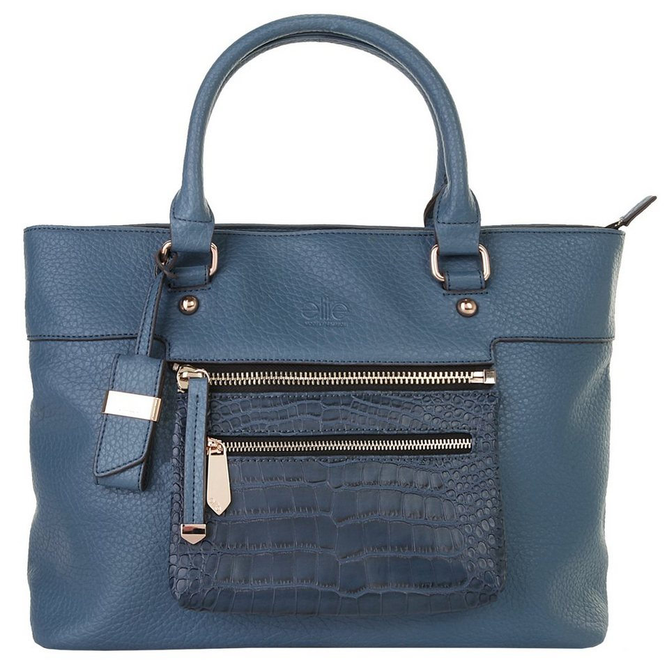 ELITE MODEN Damen Handtasche »Lana« in blau