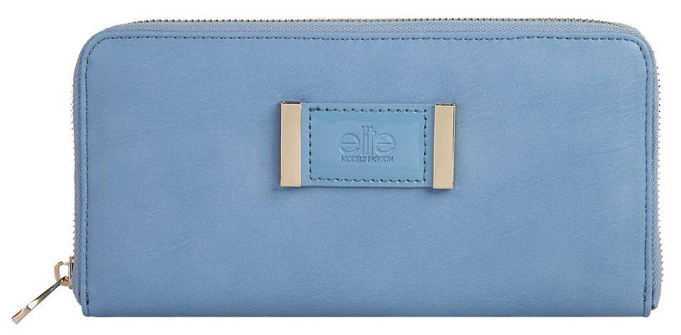 ELITE MODEN Damen Geldbörse »Kelly« in blau