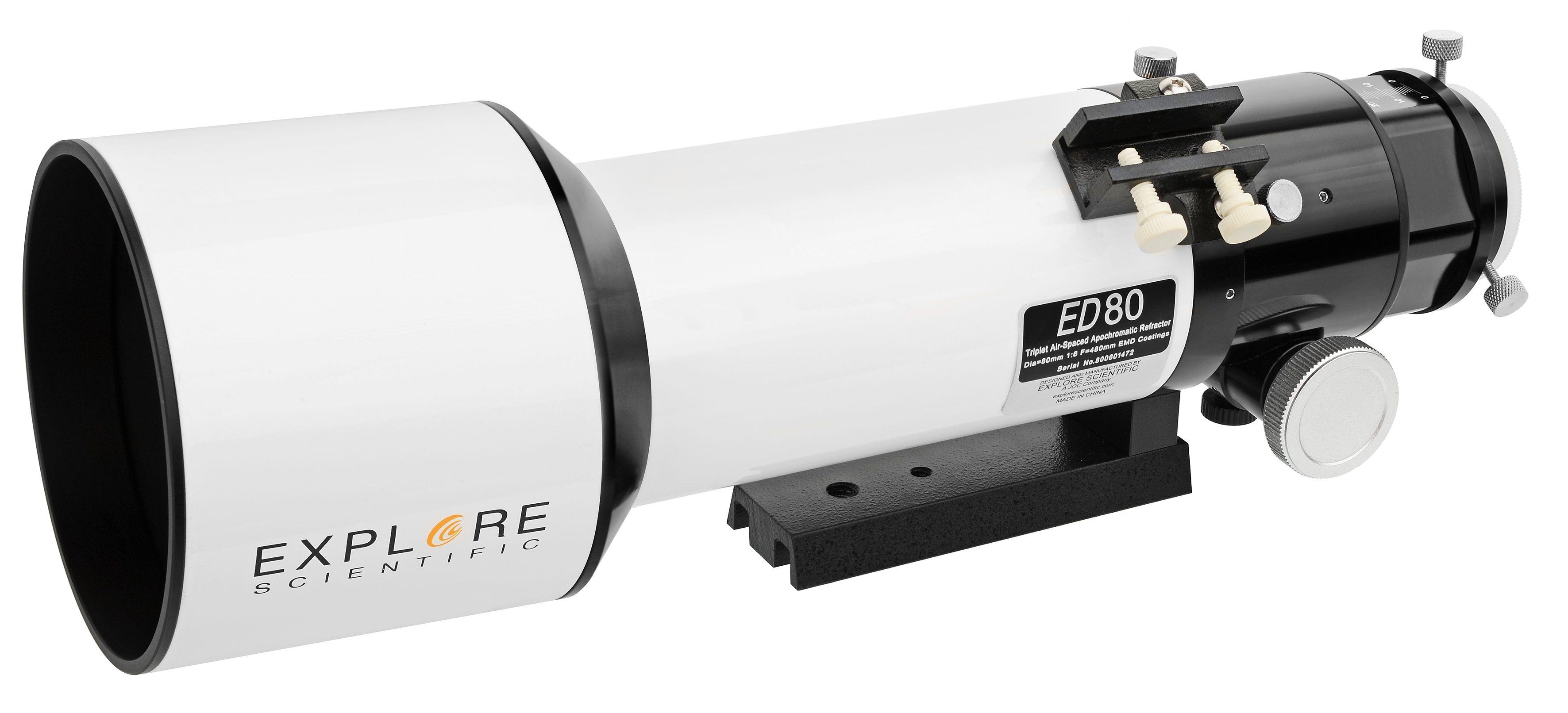 Bresser Teleskop »Explore Scientific ED APO 80mm f/6 FCD-1 Alu Hex«