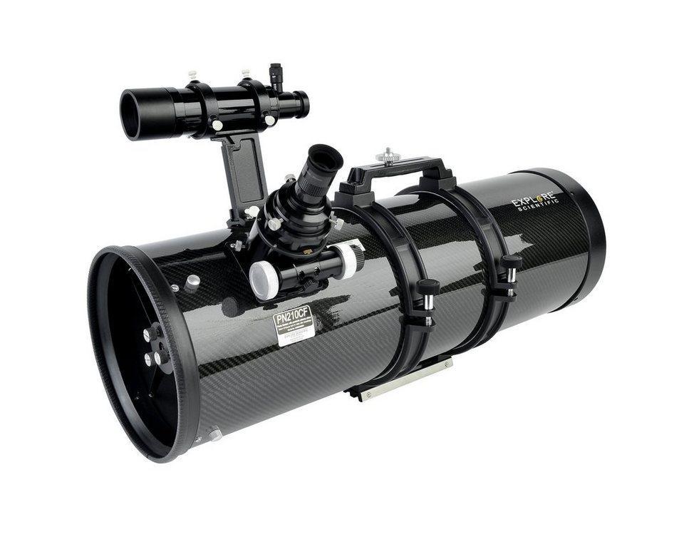 Bresser Teleskop »EXPLORE SCIENTIFIC PN208 Carbon Hexafoc OTA«
