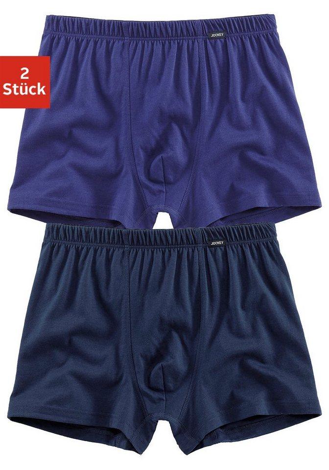 Jockey Boxer (2 Stück) in blau + marine