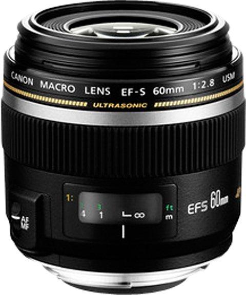 Canon EF-S 60mm f2.8 Macro USM Makro Objektiv in schwarz