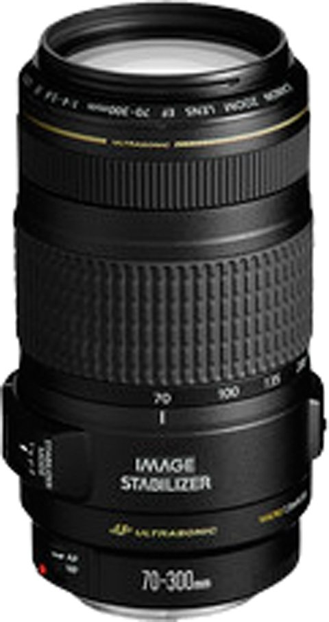 Canon EF 70-300mm f/4-5.6 IS USM Telezoom Objektiv in schwarz