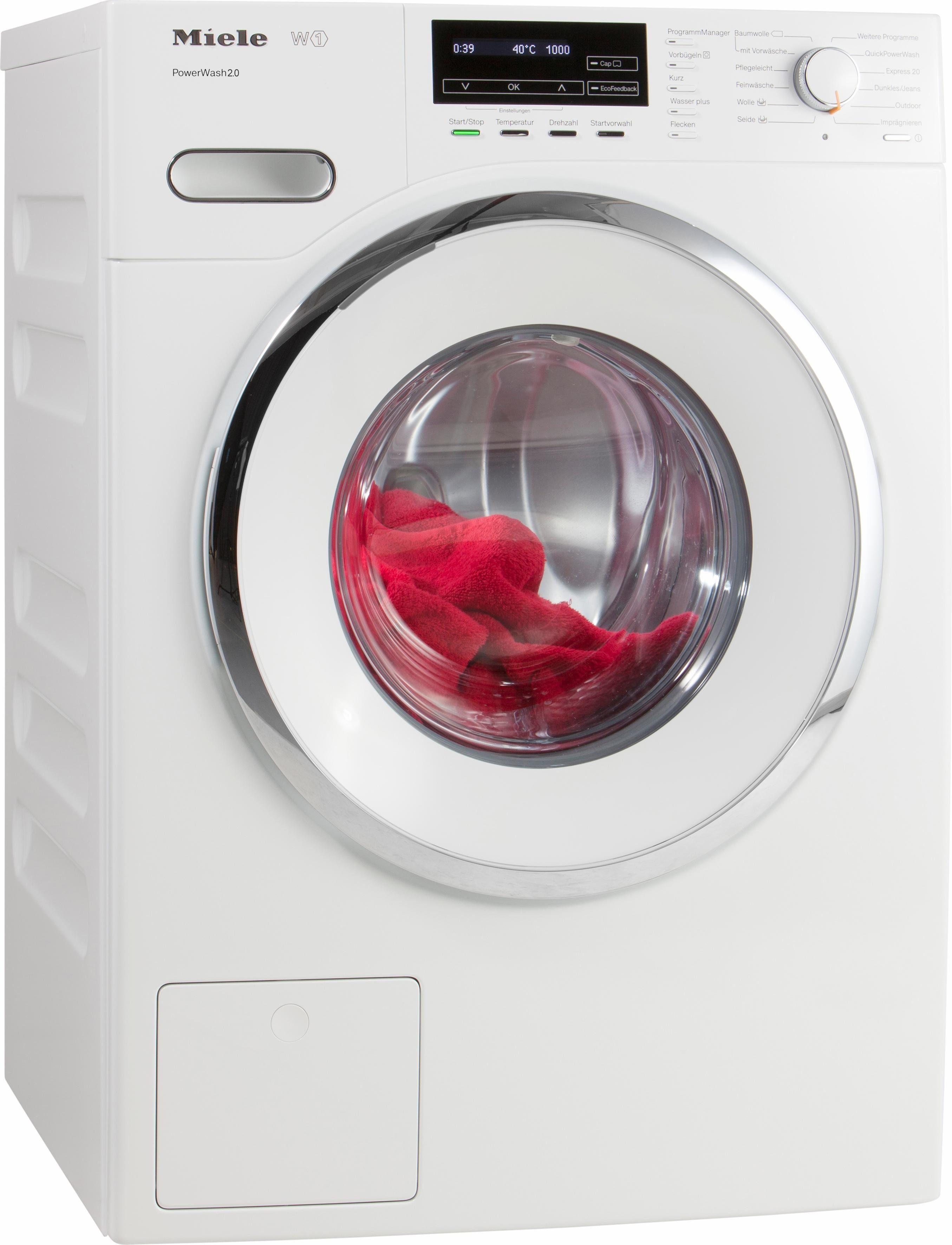 MIELE Waschmaschine WMF 121 WPS, A+++, 8 kg, 1600 U/Min