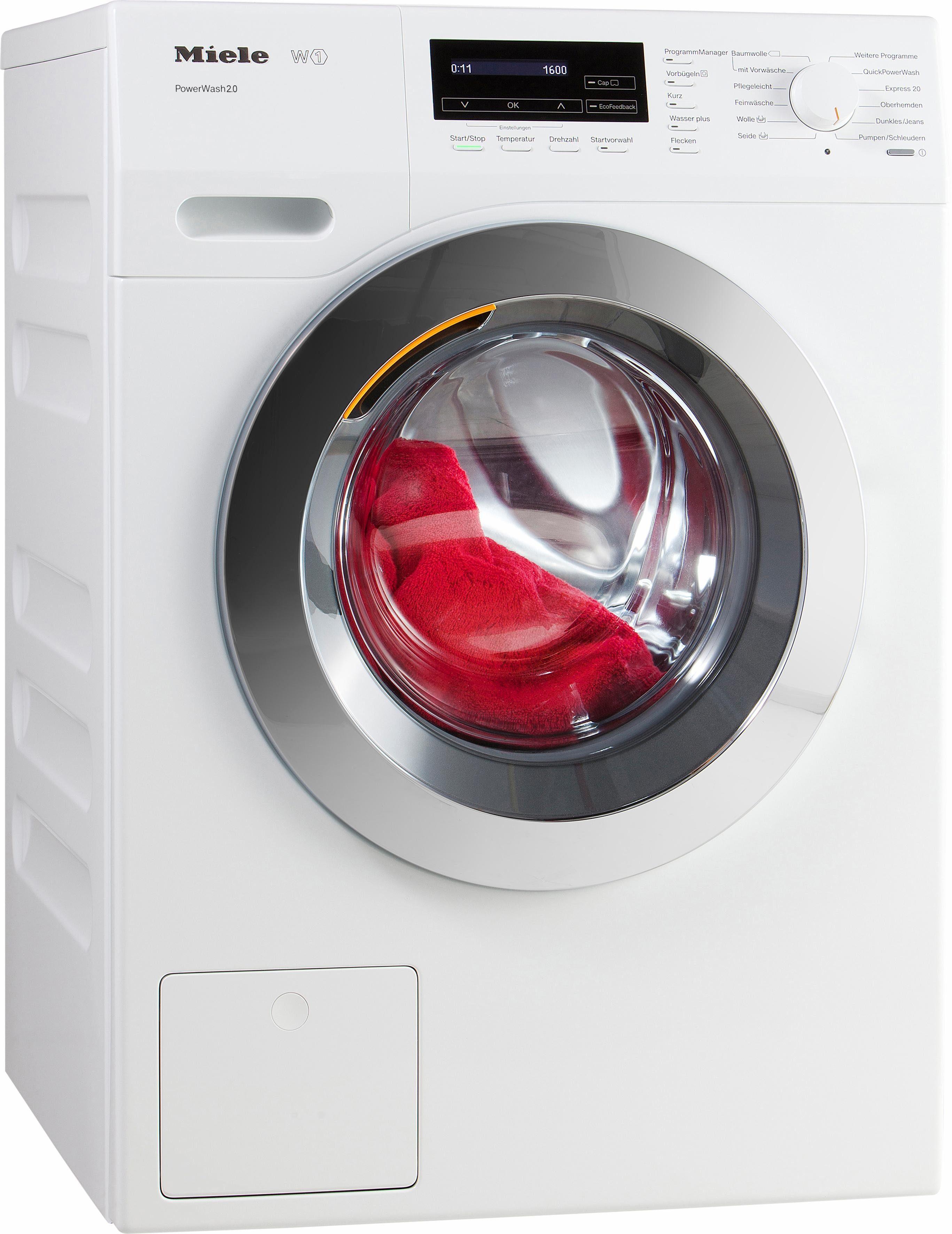 MIELE Waschmaschine WKF 131 WPS, A+++, 8 kg, 1600 U/Min