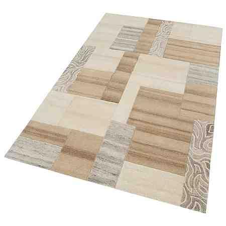 Teppich, Theko exklusiv, »Lola«, 3,5 kg/m², handgetuftet, Schurwolle