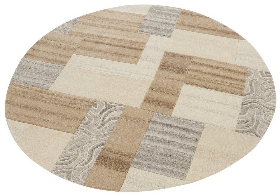 teppich lola theko exklusiv rund h he 12 mm otto. Black Bedroom Furniture Sets. Home Design Ideas