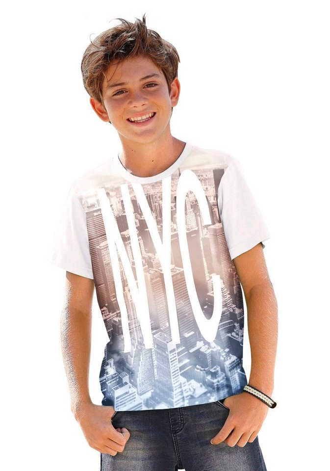 "Arizona T-Shirt ""NYC"" in weiß"