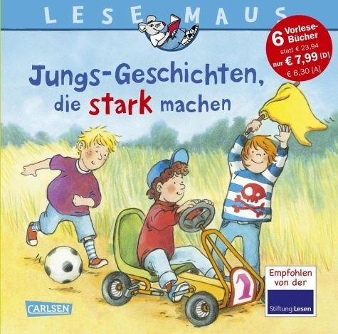 Gebundenes Buch »LESEMAUS Sonderbände: Jungs-Geschichten, die...«
