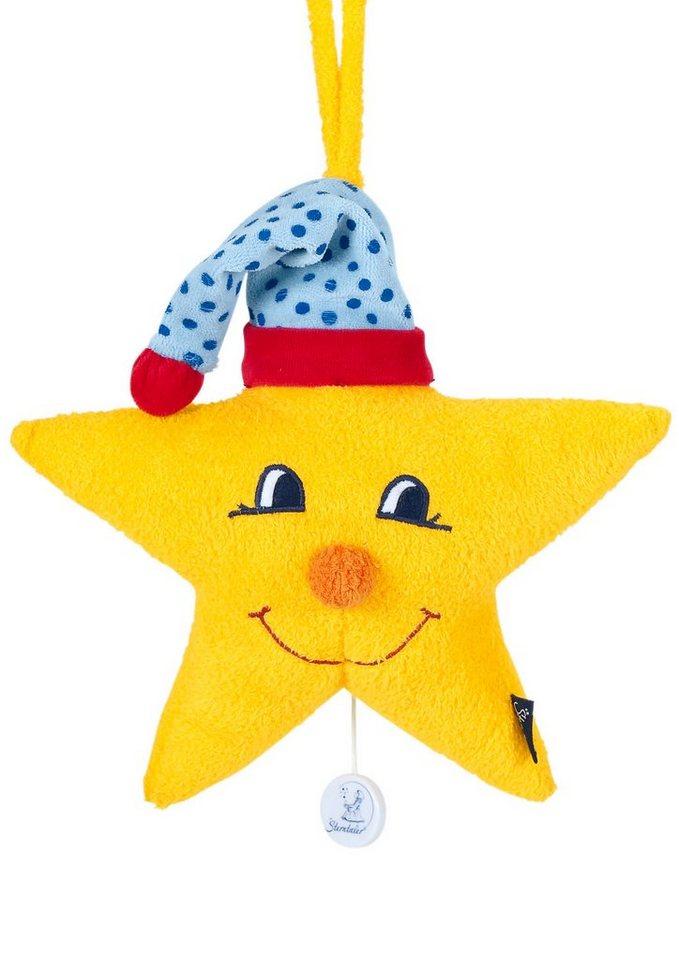 Sterntaler Spieluhr, mit Mütze, »Large Stern«
