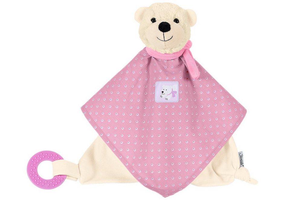 Sterntaler Schmusetuch mit Beißring, »Ella« in rosa