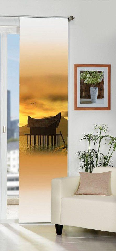 schiebegardine home wohnideen seremban mit klettband 1 st ck mit zubeh r online kaufen otto. Black Bedroom Furniture Sets. Home Design Ideas