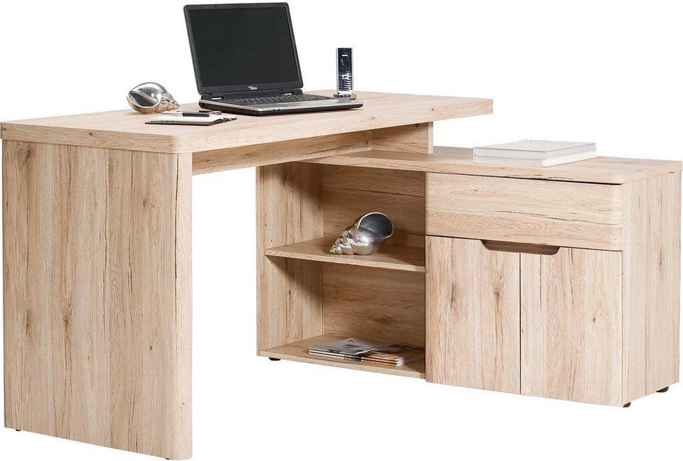 jahnke eck schreibtisch cu libre 150 e mit regalelement online kaufen otto. Black Bedroom Furniture Sets. Home Design Ideas
